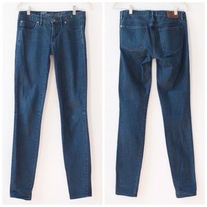 Madewell Skinny Low Rise Jeans